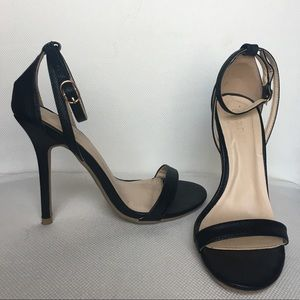 Heels with ankle strap
